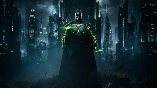 Injustice 2, Несправедливость 2, batman, Бэтмен, город, игра, обои