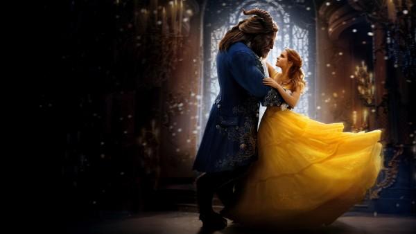 4k, 3840x2160, красавица и чудовище, фильм, 2017, сказка, бал, танец, обои