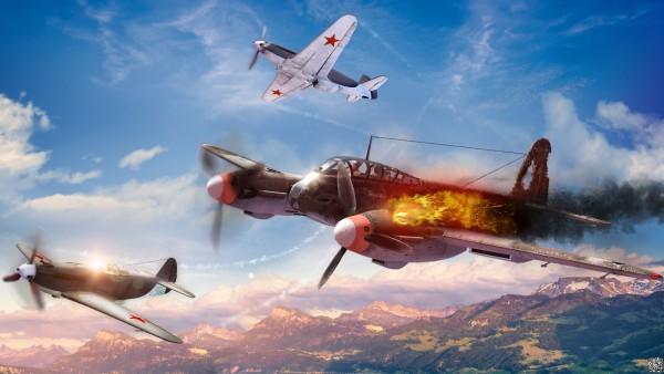 War Thunder, компьютерная игра, Гром войны, онлайн-игра, обои, HD