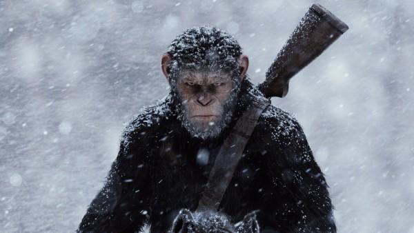 Война планеты обезьян фильм обои