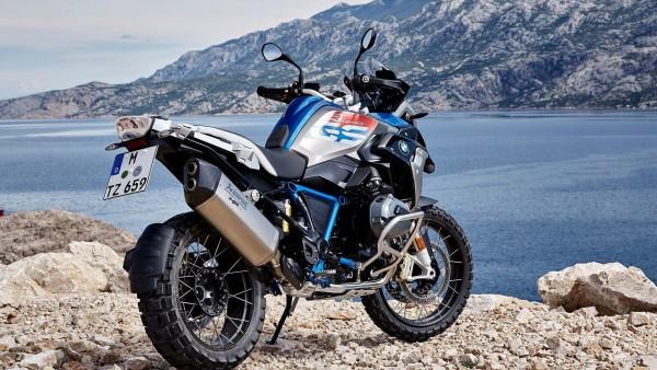2017 BMW R1200GS Rallye мотоцикл у моря обои
