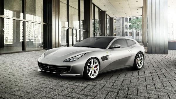 2017 Ferrari GTC4Lusso T спорткар обои HD