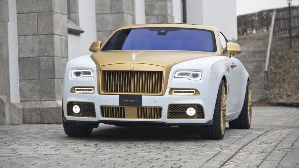 2017 Mansory Rolls Royce Wraith Palm Edition 999 обои HD