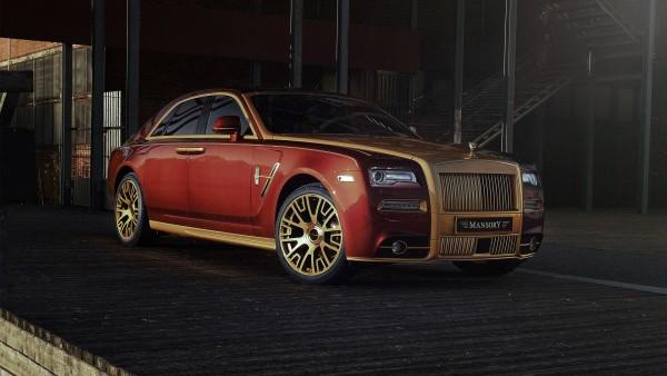 2017 Mansory Rolls Royce Ghost обои HD
