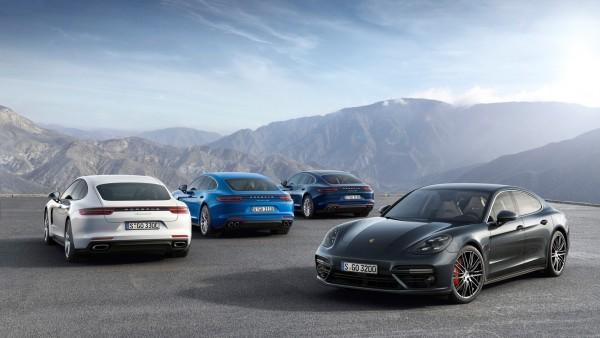 обои гибридного спорткара 2017 Porsche Panamera 4 E-Hybrid