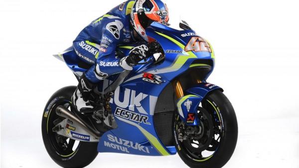 Презентация команды Suzuki MotoGP 2017 мотоцикла обои HD