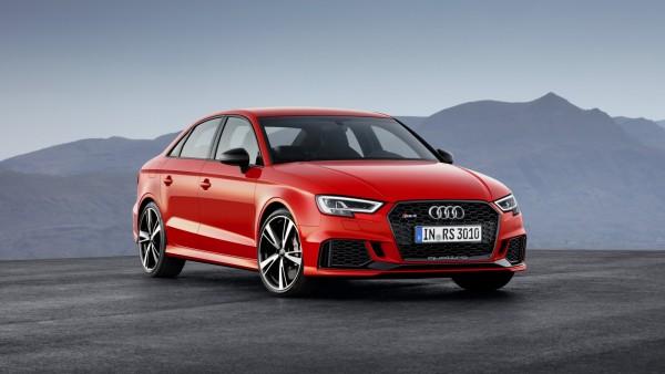 2018, Audi, RS3, sedan, ауди, седан, красный обои HD