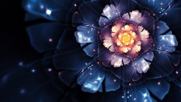 3d абстрактный цветок 4k обои 3840x2160 на рабочий стол