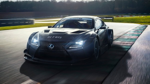 2017 Lexus RC F GT3 Race автомобиль обои спорткар