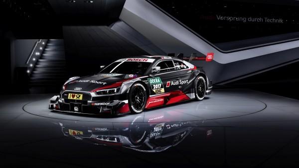 2017 Audi RS5 Coupe DTM спортивный автомобиль обои скачать