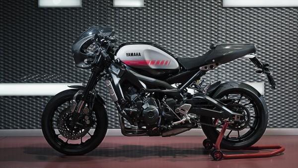 мотоцикл Yamaha XSR900 Abarth 2017 обои HD