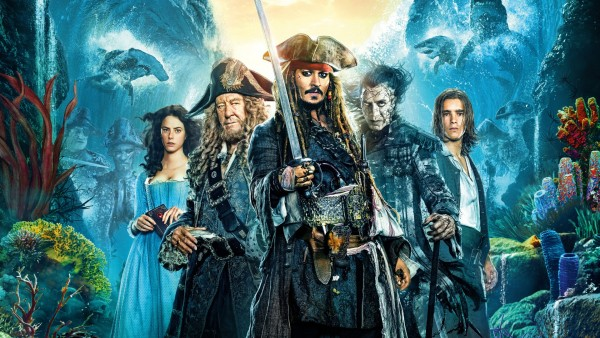 Пираты Карибского моря: Мертвецы не рассказывают сказки обои HD