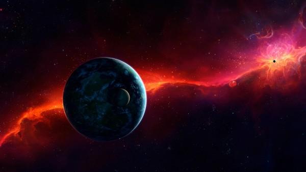 Красочные обои космоса