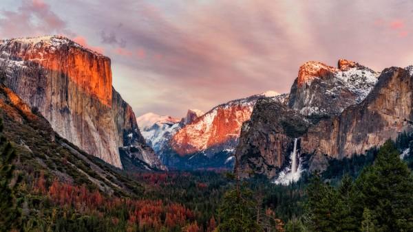 Эль-Капитан национальный парк Йосемити  обои hd