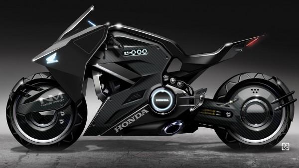 Мотоцикл Honda для фильма Ghost in the Shell обои бесплатно