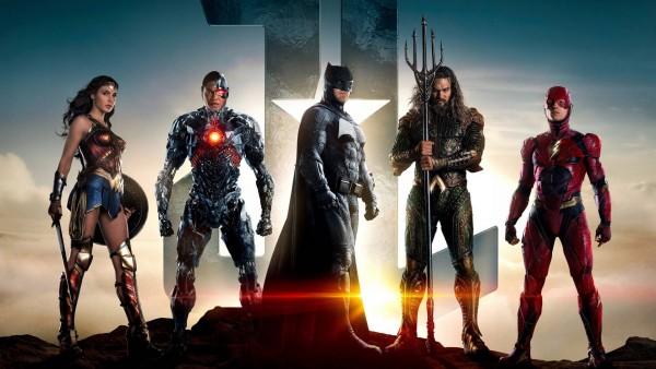Герои Лиги Справедливости обои фильма