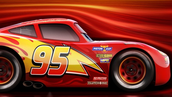 Молния Маккуин, тачки 3, мультфильм, гонки, скорость, тачки обои hd