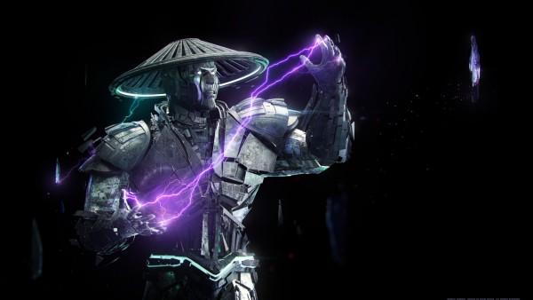 Mortal Kombat, Raiden, Смертельная Битва, файтинг, artwork, Райдэн обои hd