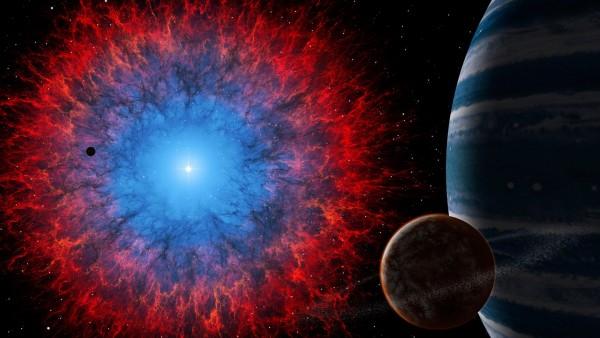 туманность, темный космос, небула, планета, галактика обои hd