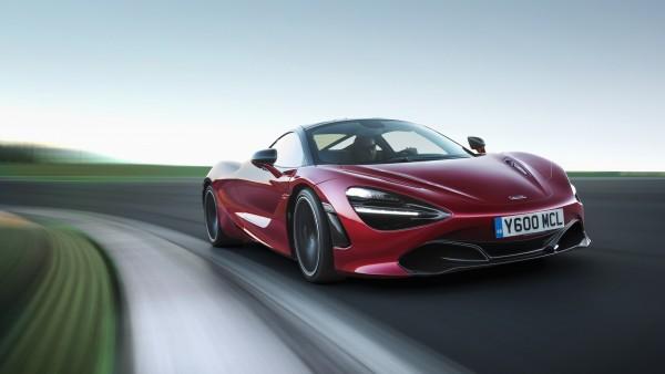 Макларен, 720S, купе, McLaren, Coupe, красный, спорткар обои HD