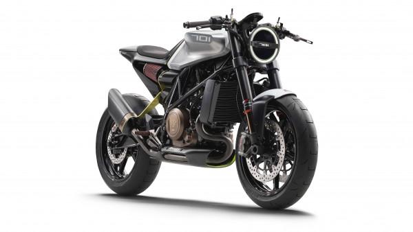 Мотоцикл Husqvarna 701 Vitpilen 4K обои бесплатно