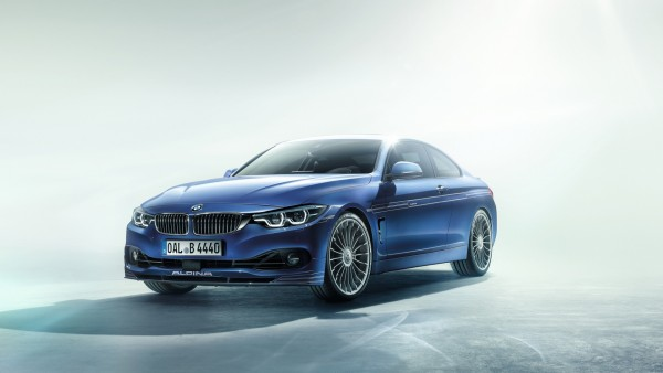 2017 BMW Alpina B4 S Bi Turbo Coupe обои HD