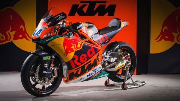 2017 KTM Moto2 MotoGP Race bike гоночный мотоцикл обои HD