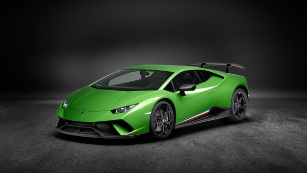 Купе 2017 Lamborghini Huracan Performante обои HD