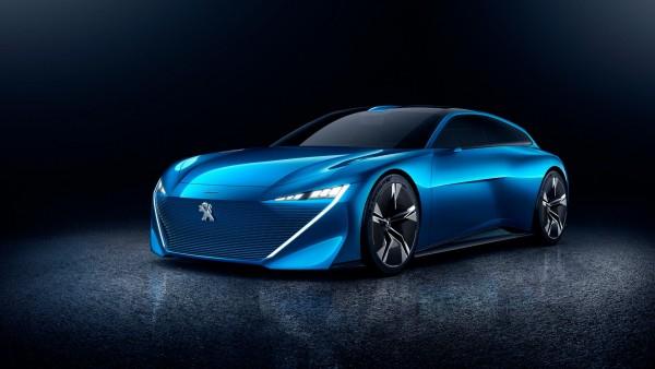 Пежо Инстинкт концепт самоуправляемый автомобиль обои HD