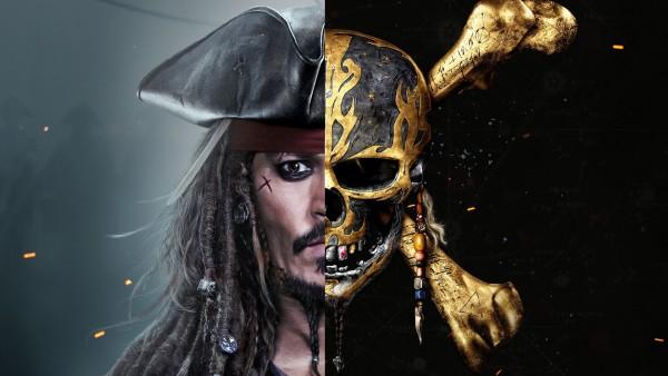 Джек Воробей капитан череп с костями обои HD