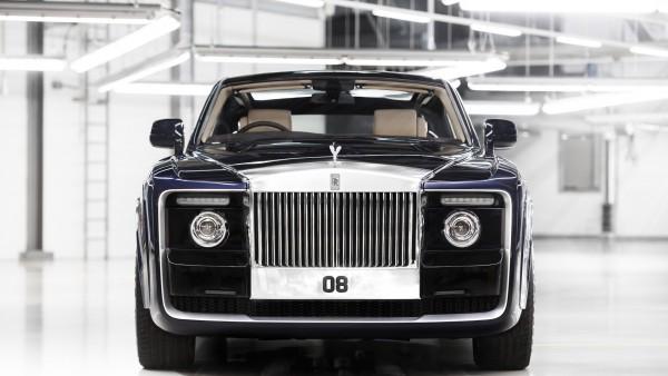 Rolls-Royce Sweptail уникальный купе обои HD