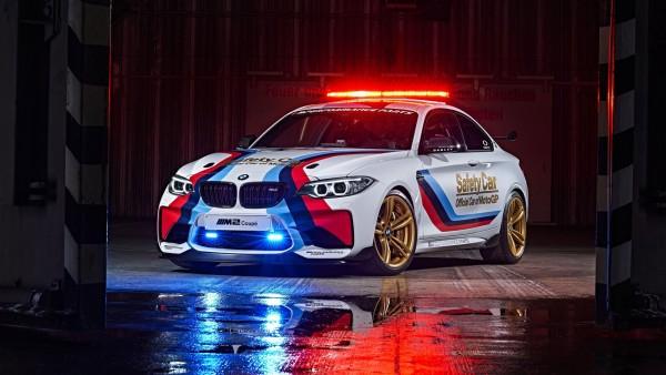 BMW M2 MotoGP SAFETY пейс-кар мотогонок обои HD