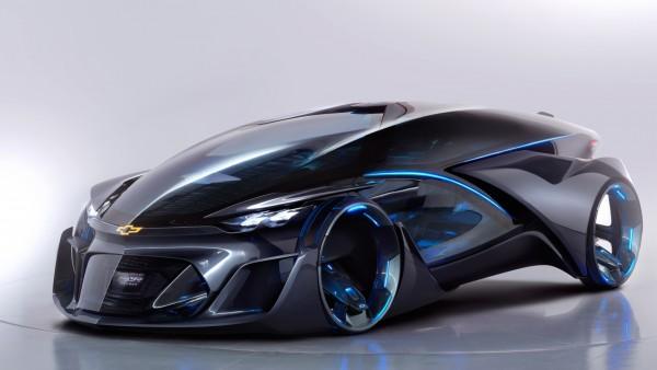 Chevrolet FNR Sports Concept машина будущего обои HD
