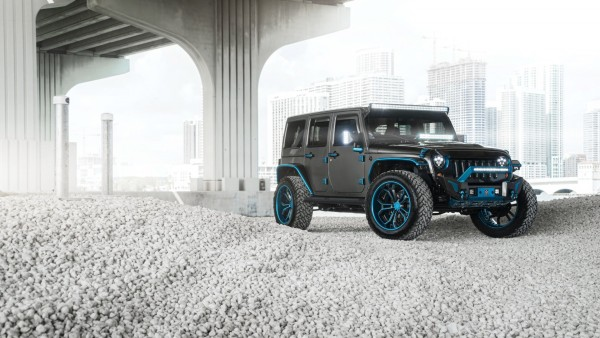 AG MC Blue Grey Jeep джип обои HD