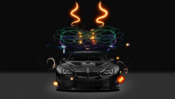 BMW M6 Gran Coupe Фотошоп обои HD