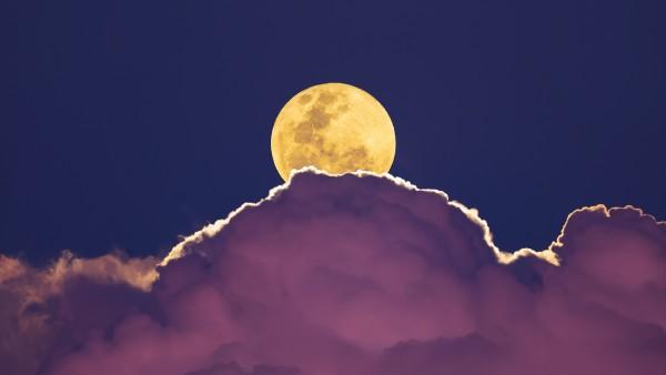 Супер Луна обои 4K