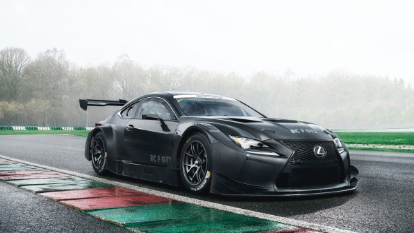 LEXUS RC F GT3 гоночный автомобиль