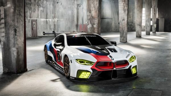 Обои BMW M8 GTE 2018