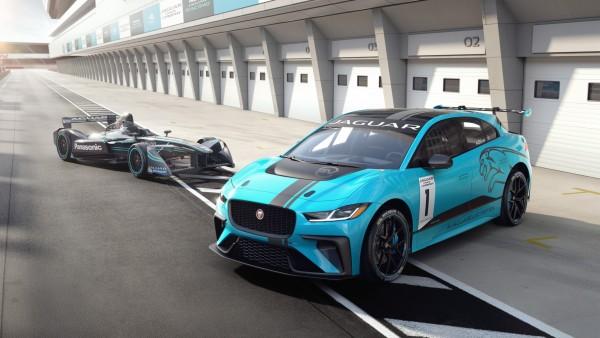 Электромобиль Jaguar I Type Concept