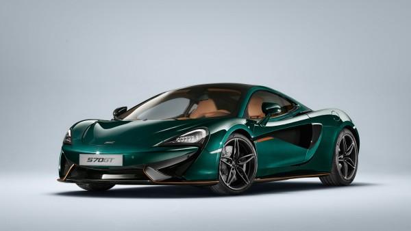Купе MSO McLaren 570GT XP Green 4K 2018
