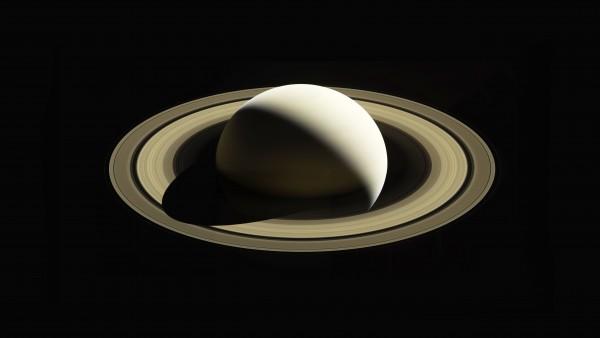 Планета Сатурн обои 5K