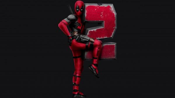 Логотип, Дэдпул 2, deadpool2, 5К обои, 5120x2880