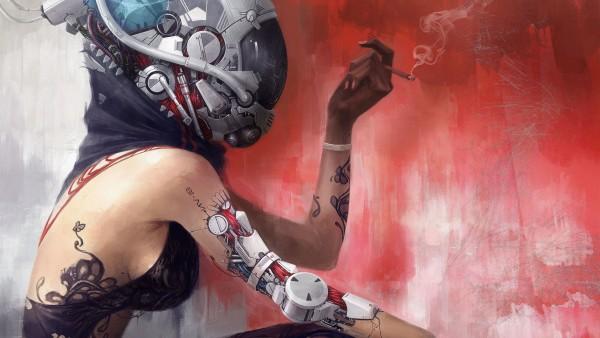 Девушка робот