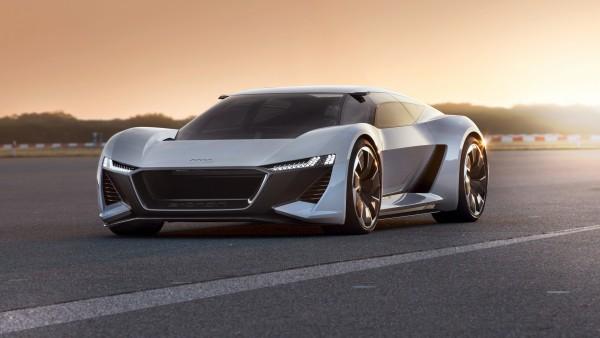 Audi PB 18 e-tron электрический суперкар картинки