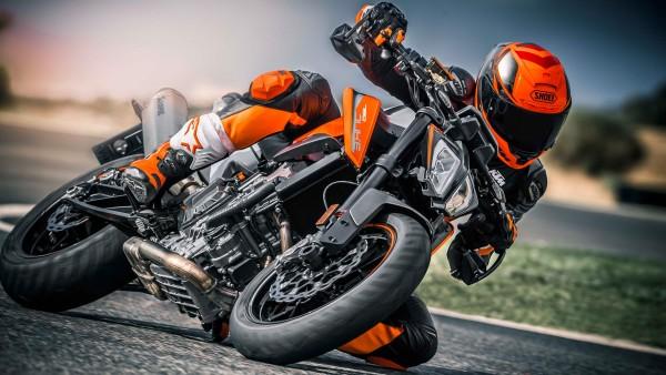 мотоцикл стритфайтер, KTM 790 DUKE, обои 4K, 3840x2160
