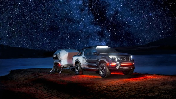 Nissan Navara Dark Sky Concept обои HD