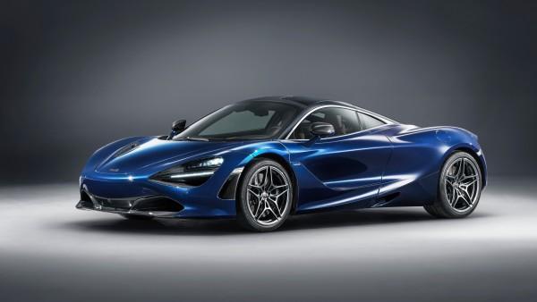 2018 McLaren 720S Atlantic Blue by MSO обои 4K