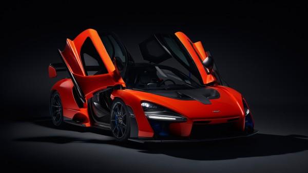 2018 McLaren Senna гиперкар обои 4K