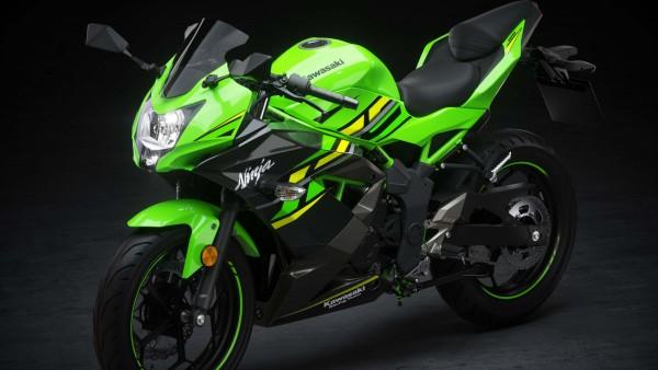 2019 спортбайк Kawasaki Ninja 125 обои 4K