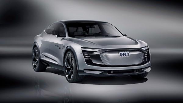 Audi Elaine концептуальный электромобиль обои 4K
